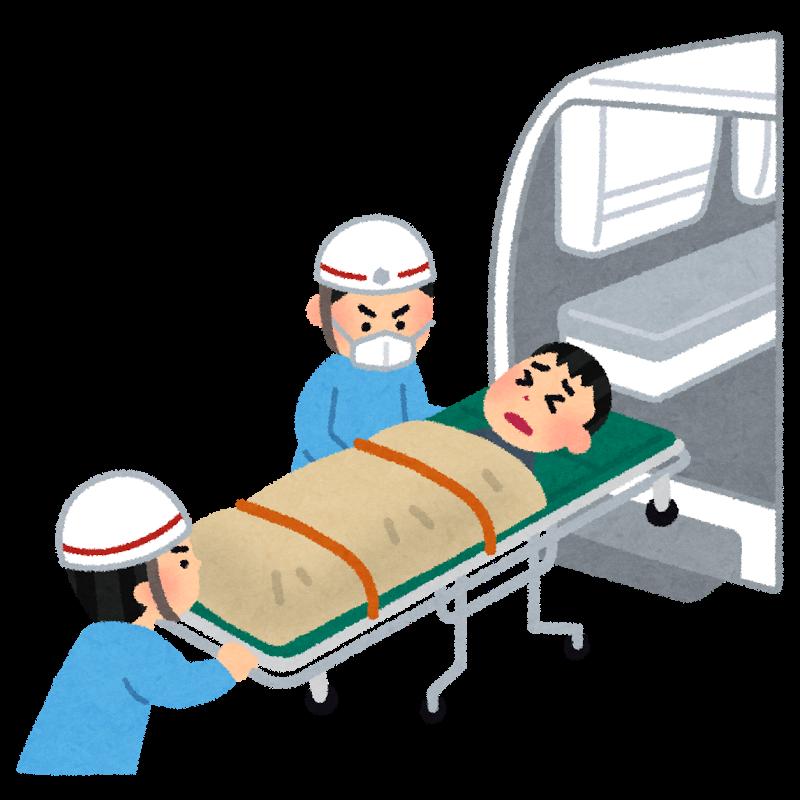 一人暮らしの人が救急車を呼ぶ時のマニュアル